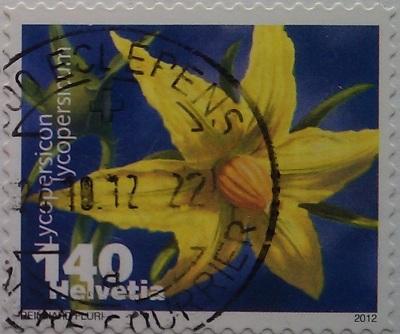 швейцария 2012 желт цветок 140