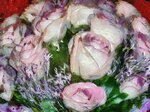 розы в стиле Клода Моне