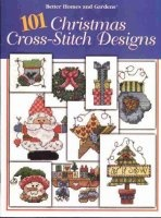 101 Christmas  Cross Stitch Designs Book jpg 3Мб