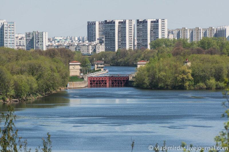 Шлюз № 10 канала им. Москвы. Фокусное 210 мм.