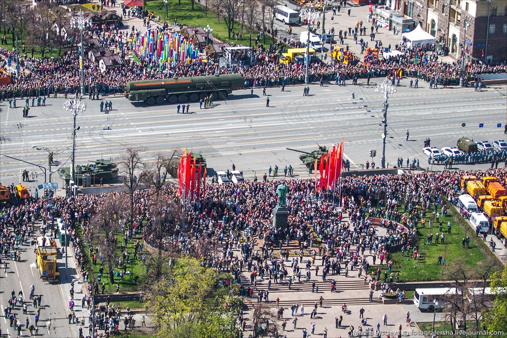 Репетиция парада 7 мая 2015