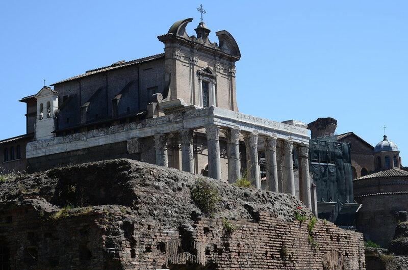 O fórum romano
