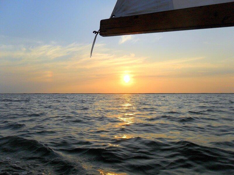 Август 2012, яхтенный поход, Азовское море, вода