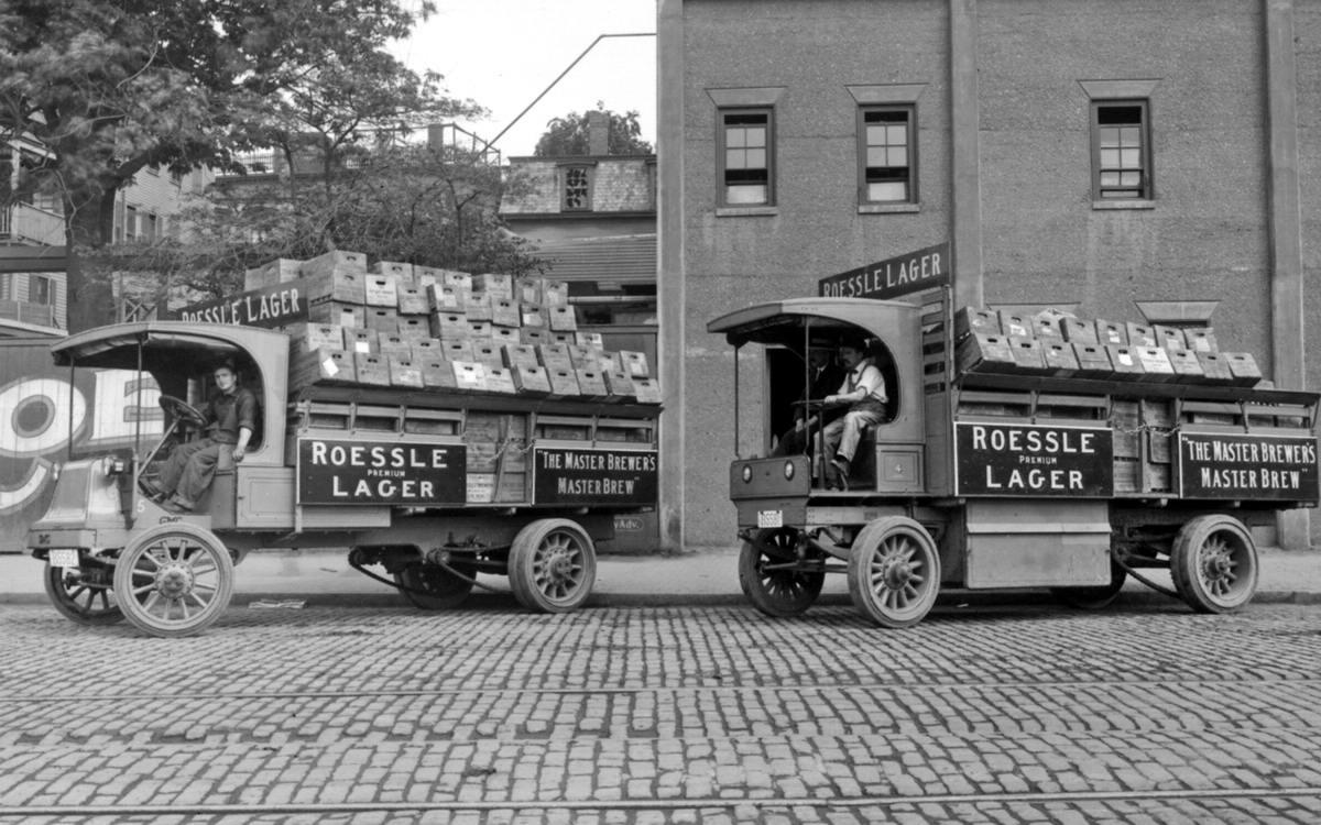 Специализированные транспортные средства начала 20-го века на снимках американских фотографов (15)