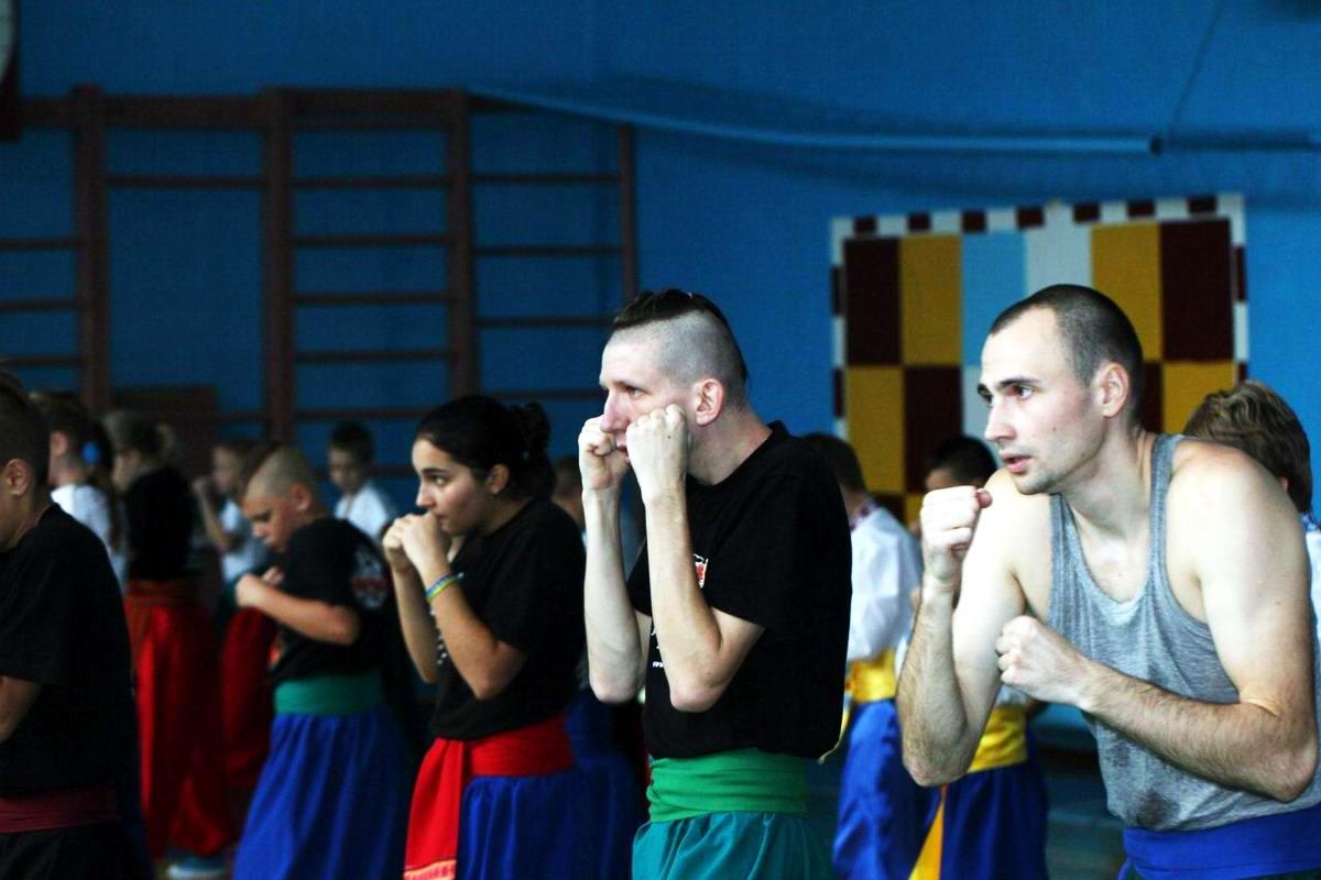 Квалификационный групповой экзамен в школе боевого гопака города Нетешин (Хмельницкая область) (18)