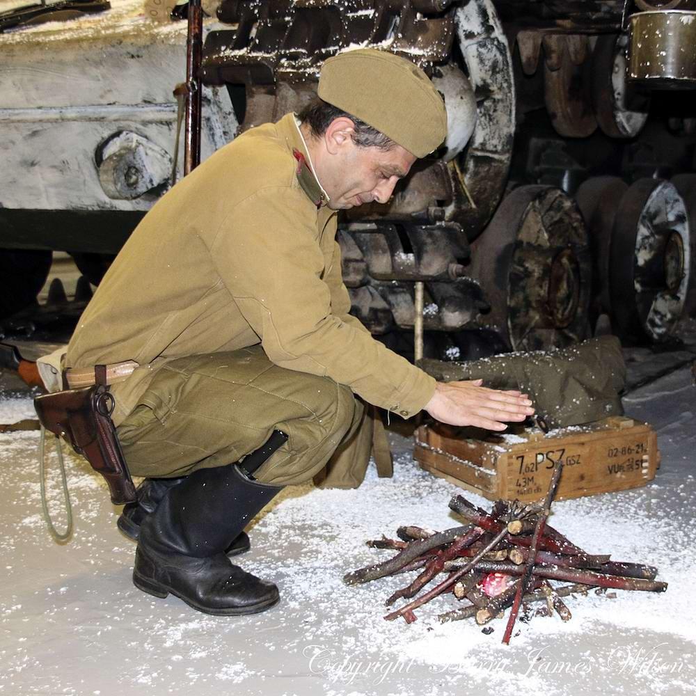 Солдаты Советской Армии в британских реконструкциях сражений 2-й мировой войны (11)
