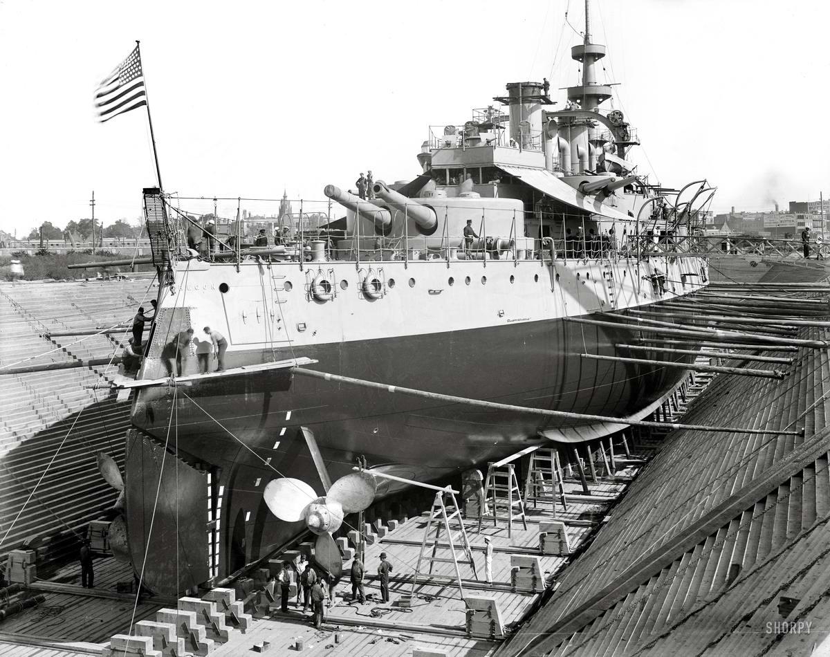 Корабли, речные суда и военные моряки на снимках американских фотографов конца 19 века (30)