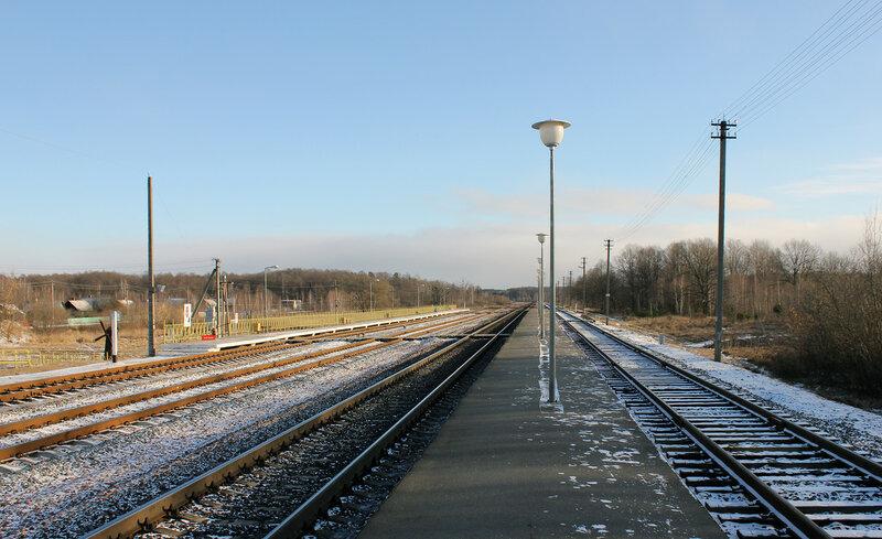 Платформы на станции Якимовка