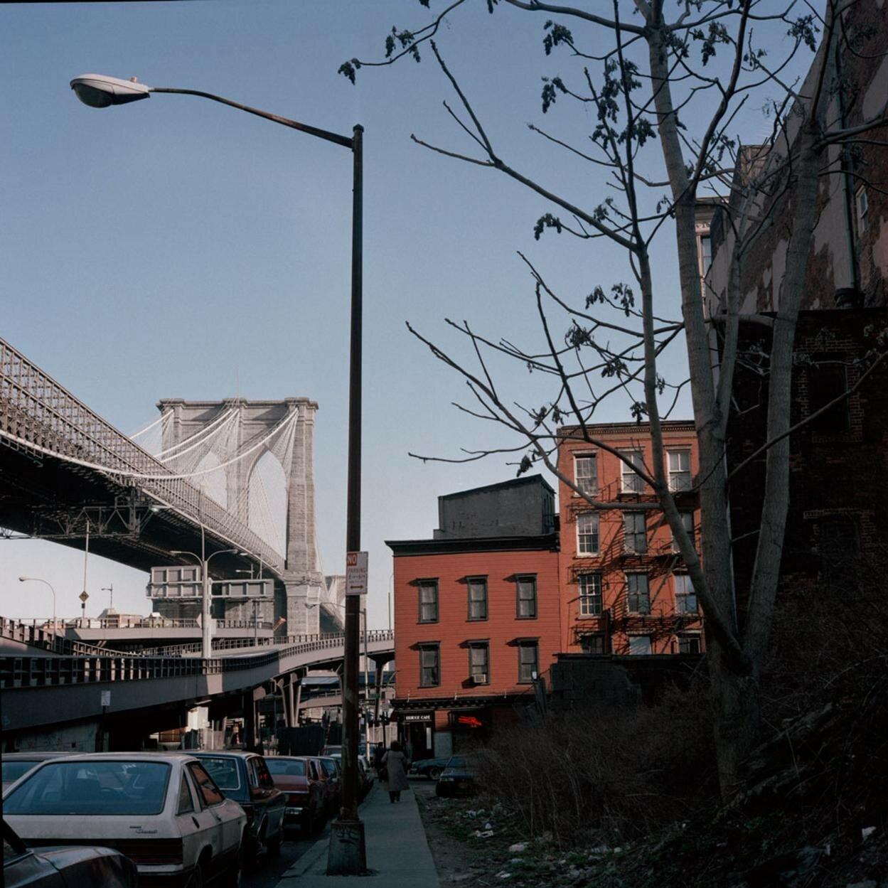 1986. Бруклинский мост с Довер Стрит