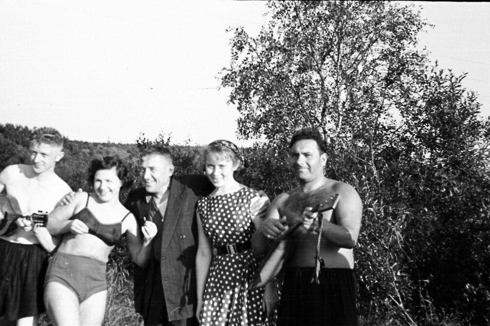 1950-е. На природе