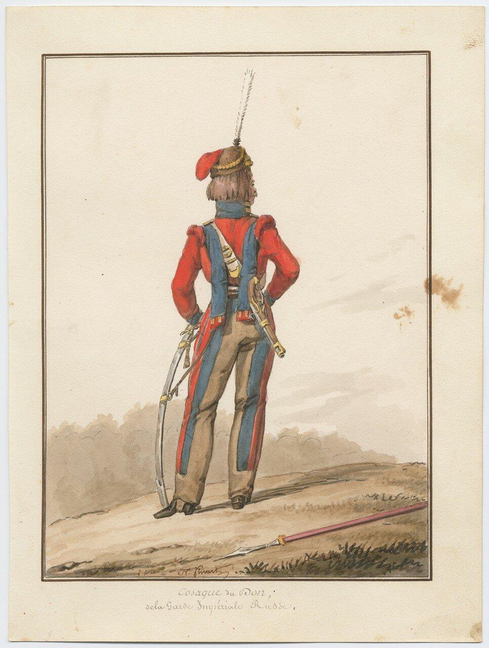 Донской казак русской императорской гвардии 1815