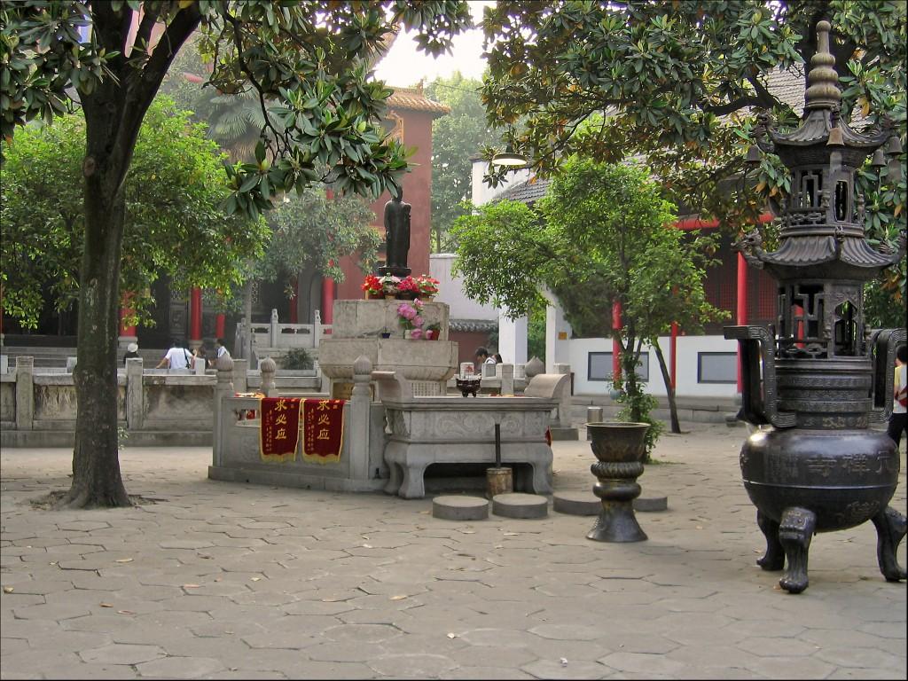 Северный двор, монастырь Гуйюань
