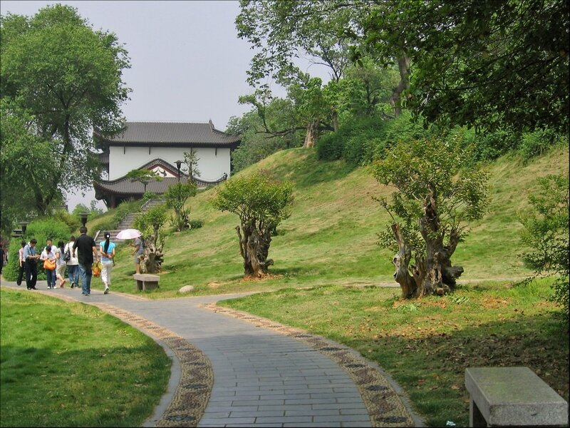 Парк на горе Шэшань, Ухань