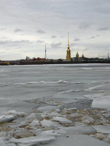 Нева, Петропавловская крепость