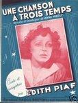 """""""Песня на три такта"""" в исполнении Эдит Пиаф (1947) слова и музыка Анны Марли"""