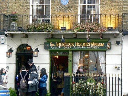 Музей Шерлока Холмса на Беккер стрит