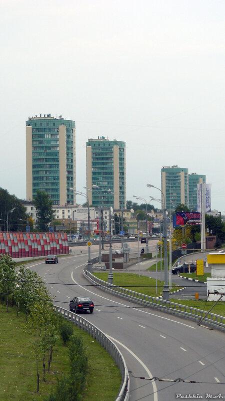 Краснопресненская магистраль