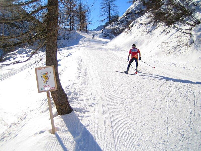 лыжная трасса в Val Formazza