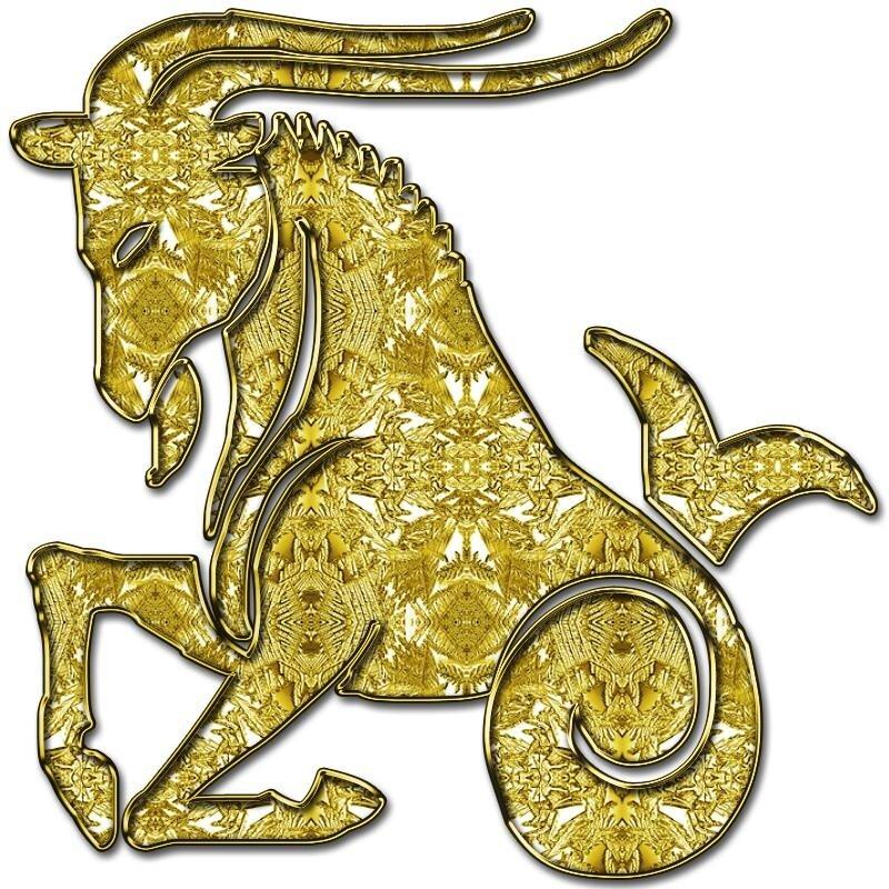 Символ знака зодиака козерог фото