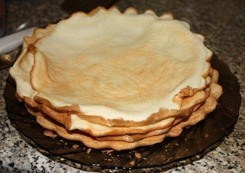 Коржи для торта Добош