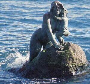 Русалка - символ Мисхора