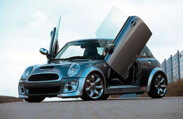 MINI Cooper S от тюнинг-ателье MHW