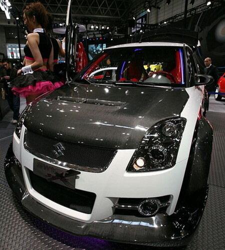 Карбоновый Suzuki Swift