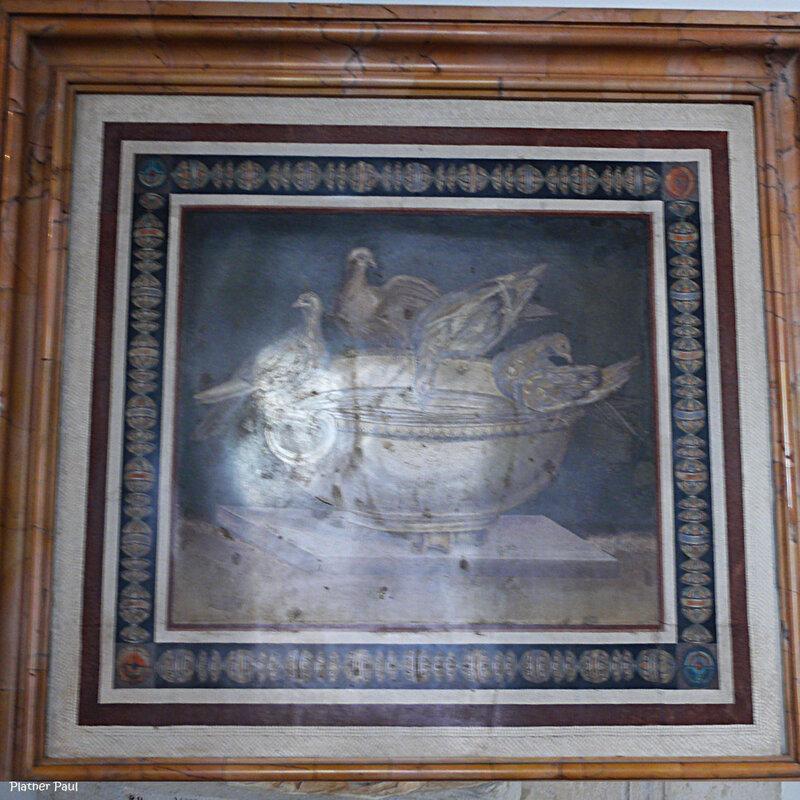 Голуби на чаше. Мозаика из виллы Адриана в Тиволи Первая половина 2 века н.э.