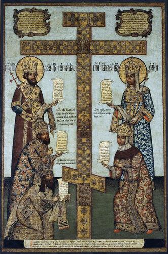 Кийский крест с предстоящими bely gorod