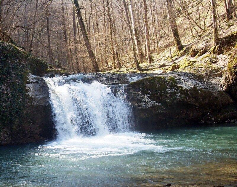 Каверзинский водопад...
