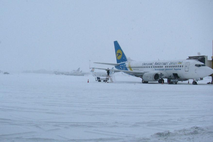 индия-01 / Самолет из Борисполя