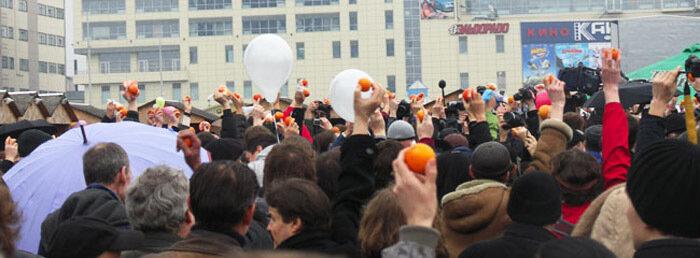 Митинг в Калининграде