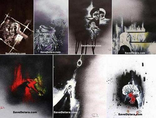 Жизнь и смерть пленницы красок Деляры Дараби