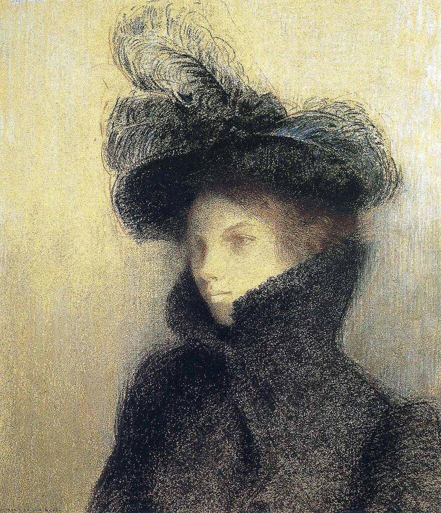 Odilon Redon Portrait of Marie Botkine, 1900 (1).jpg