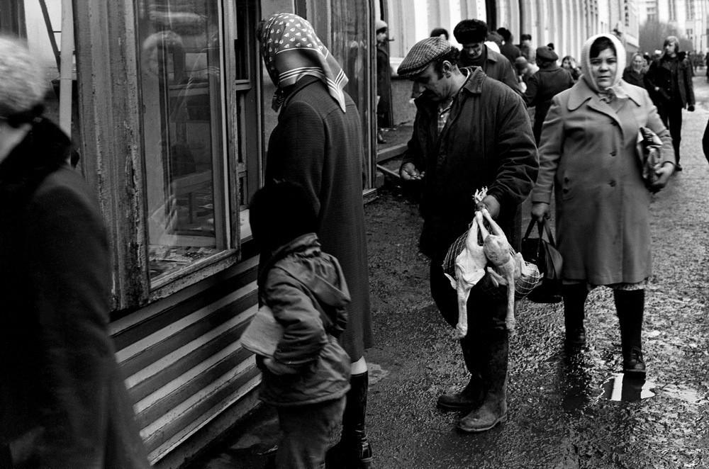 Время, повернутое вспять: уникальные кадры советской реальности