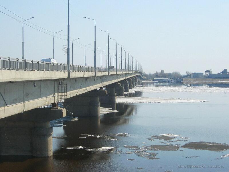 Прогулка, ледоход, Саратов, 16 апреля 2018 года