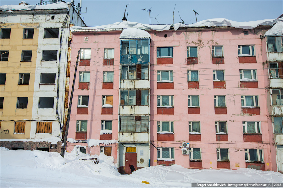 Found, where in Russia there are no problems with housing Moreover, residential, which, housing, something, buildings, wind, frost, Part of apartments, settled, part, abandoned, Residents, neighboring, deliberately, fierce, after, fault, Everything