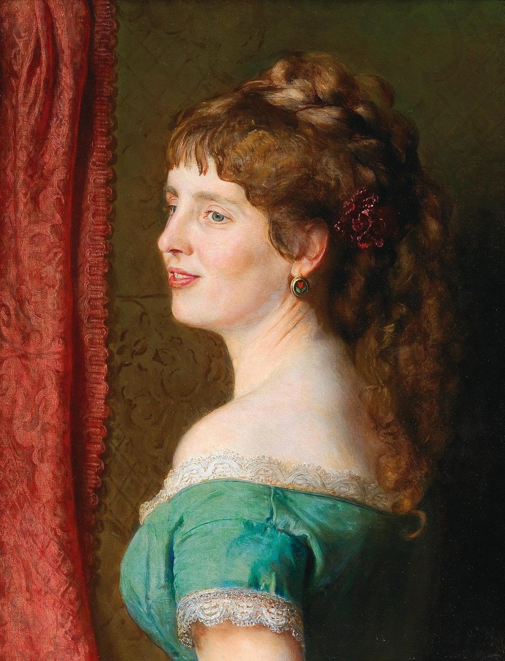 Вторая жена художника , 1836.Jpeg