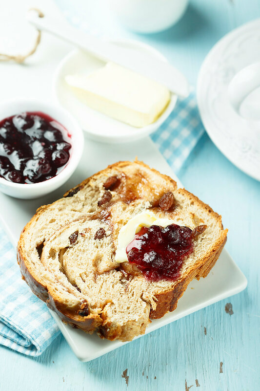 Спасибо, Марта! Коричный хлеб с изюмом.