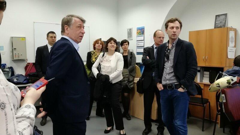 Посольство Германии - встреча в МГУ
