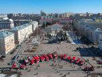 Выставка пожарной техники в честь 100-летия Советской пожарной охраны