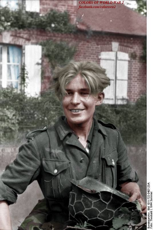 Последние резервы Германии: полицейские, партийцы, дети и венгры.  1945
