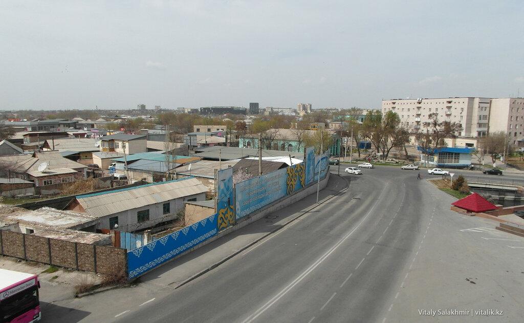 Панорама Шымкента с Парка Независимости
