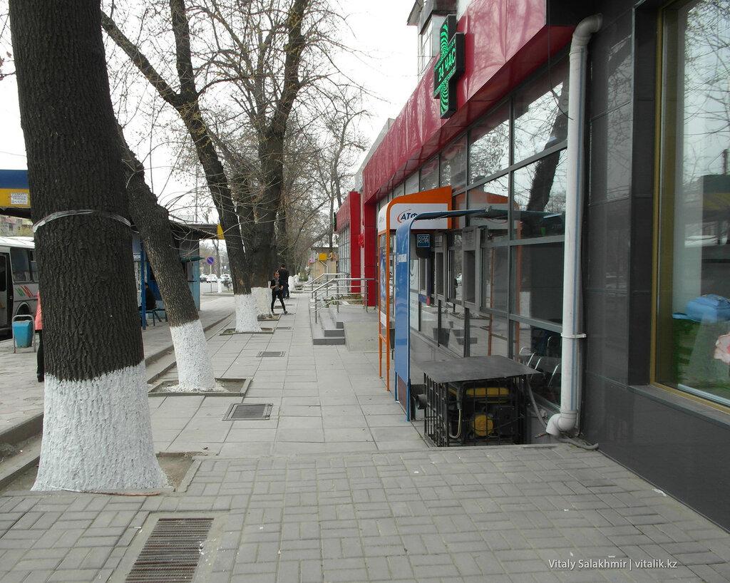 Тротуар Проспекта Республики Шымкент