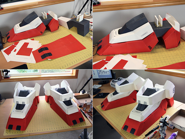 7FT Gundam - Ultimate Papercraft - Taras Lesko