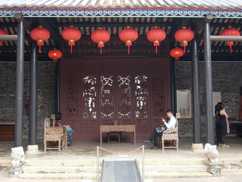 Гонконг - Парк Город, обнесенный стеной - Резное искусство