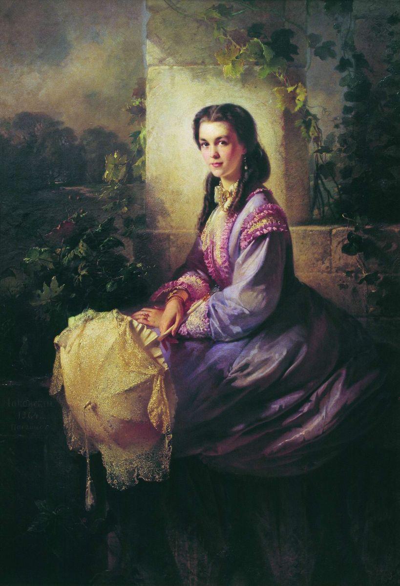 Портрет графини С. Л. Строгановой. 1864