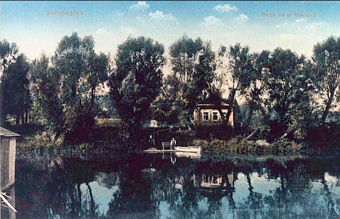 Вид на реке Клязьме