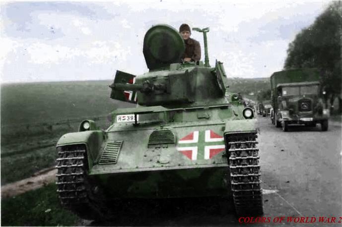 Как из русского сделали мадьяра, а потом опять русского.  1941 - 47 г.