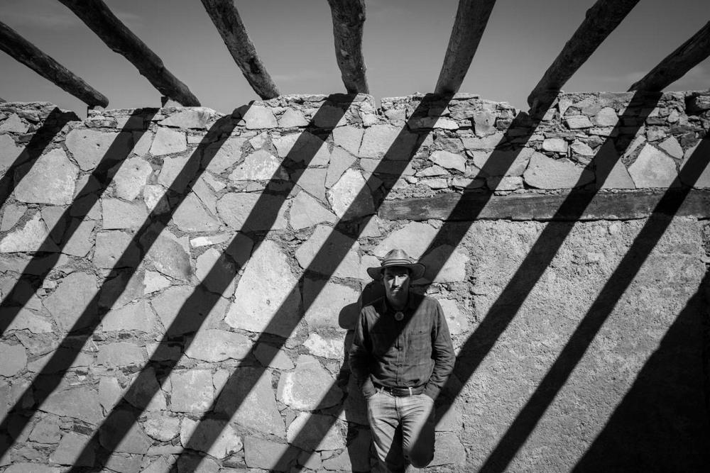 Одинокие странники в мексиканской пустыне